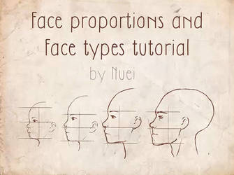 TUTORIAL VIDEO: Face Proportions and 11 Face Types by Nuei