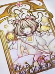 Card Captor Sakura [SPEEDPAINT] by Nuei