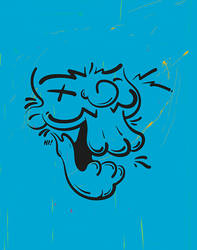 Happy Death Face by MrZurkhon