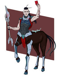 Centaur cartoon