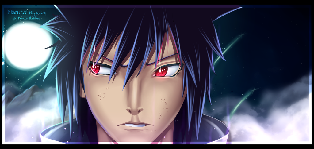 Naruto 661 - Izuna Uchiha by DeviousSketcher on DeviantArt