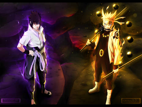 Naruto 673 - We will defeat you! Collab