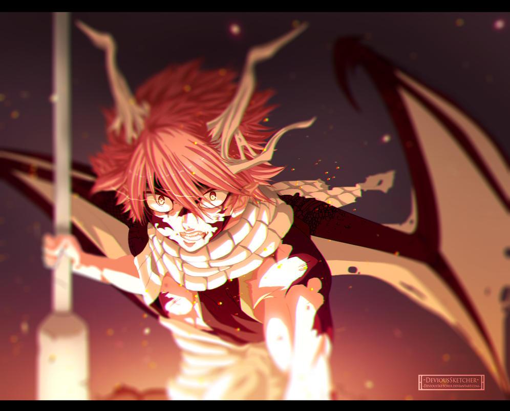 Natsu Dragneel - Dragonize!? by DeviousSketcher