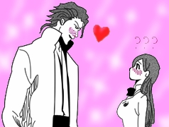 Aizen LoveS Orihime by Hazmanian-Devil