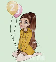 Happy Birthday Ariana Grande by blissfulari