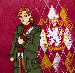 Hogwarts Mystery Charlie Weasley by blissfulari