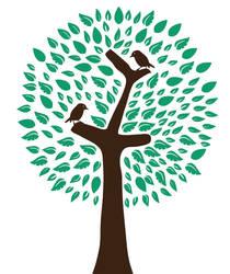 tree and bird by egidiogaudi