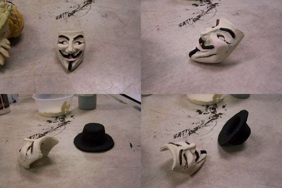 V For Vendetta Mask Drawing V for Vendetta Mask N Hat by