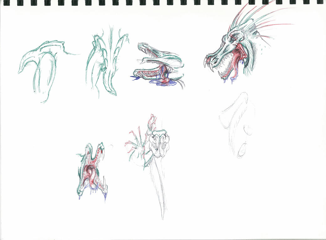 Hyruden Sketches by Kiwi-Fox3