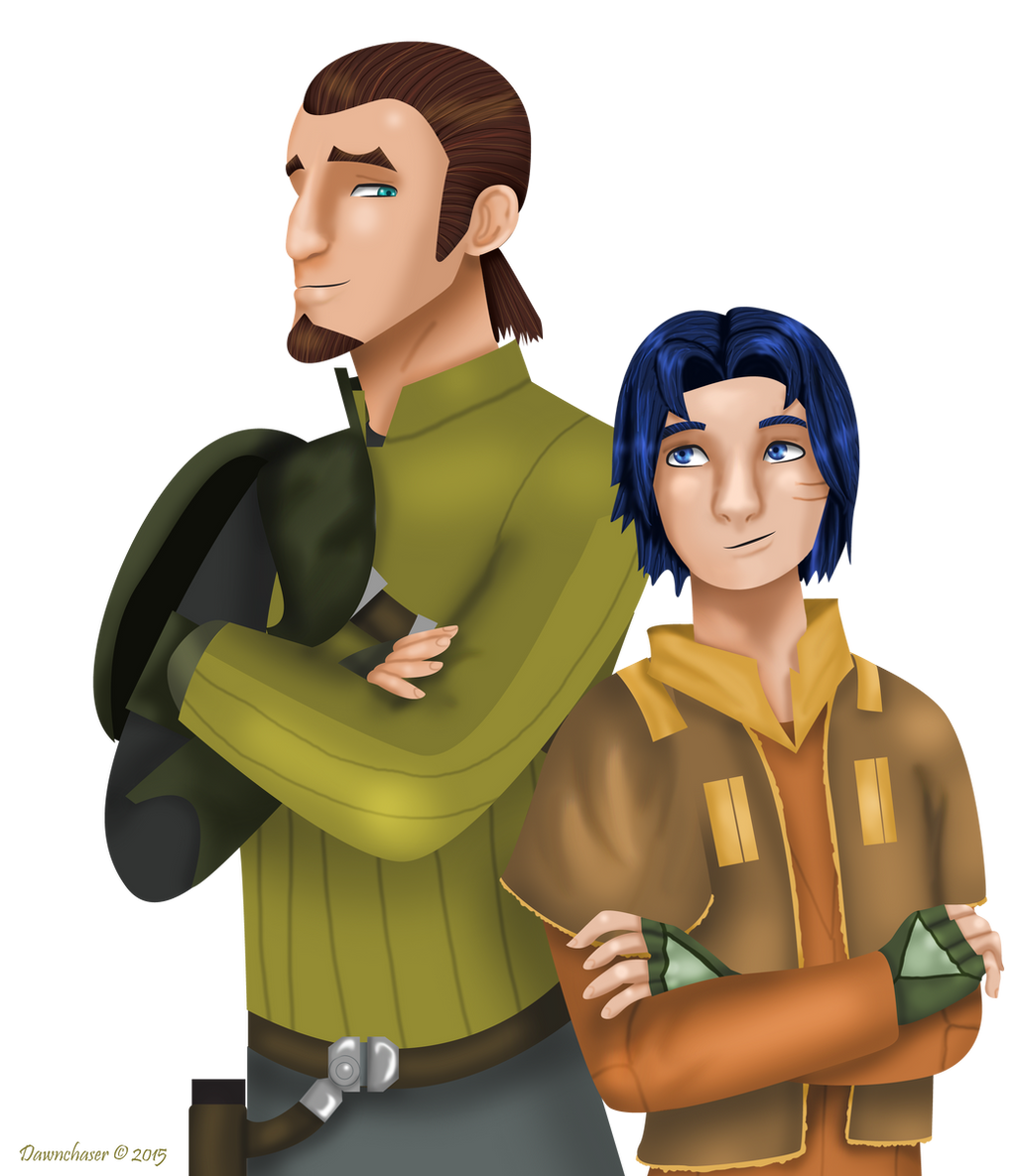 kanan and ezra by dawnchaser on deviantart