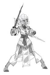 Elf Lady by NL0rd