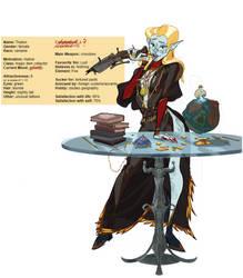 Random Vampire Lady by NL0rd
