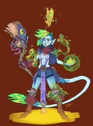 Warlock gal by NL0rd
