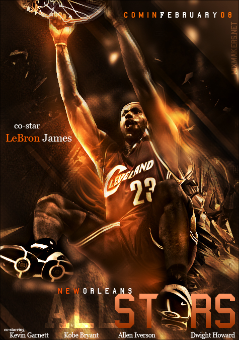 Lebron James Poster by fullevent