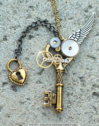 OneWing Steampunk Key