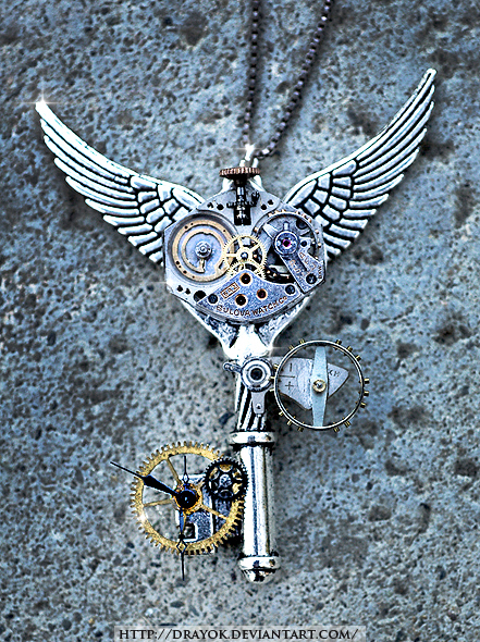 Steampunk Time-Travel Key by Drayok
