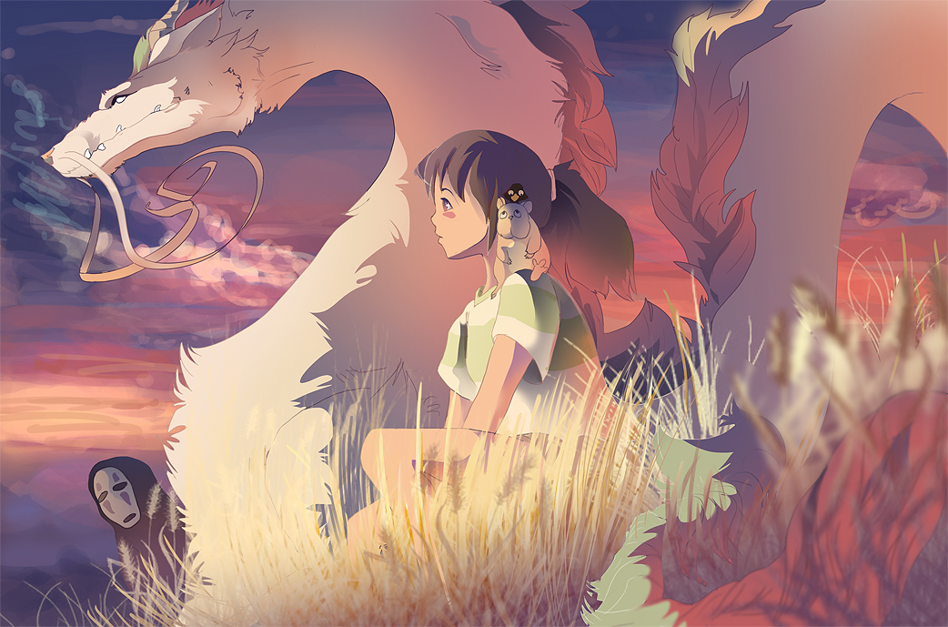 Spirited Away Our Last Sunset By Drayok On Deviantart