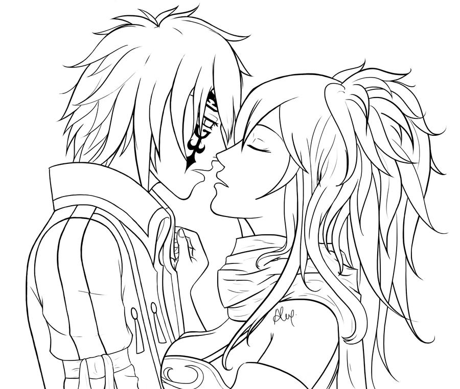 Fairy tale at fairy tail lines by aeli na on deviantart - Fairy tail coloriage ...