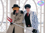 Cosplay Photography: The Senpai and the Kohai by SkywingKnights