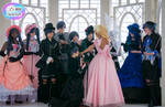 Cosplay Photography: All Her Suitors by SkywingKnights