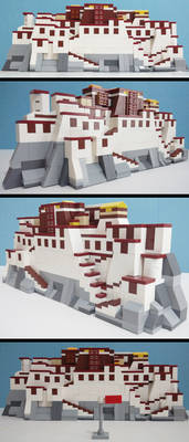 The Potala Palace(my LEGO creation)
