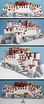 The Potala Palace(my LEGO creation)