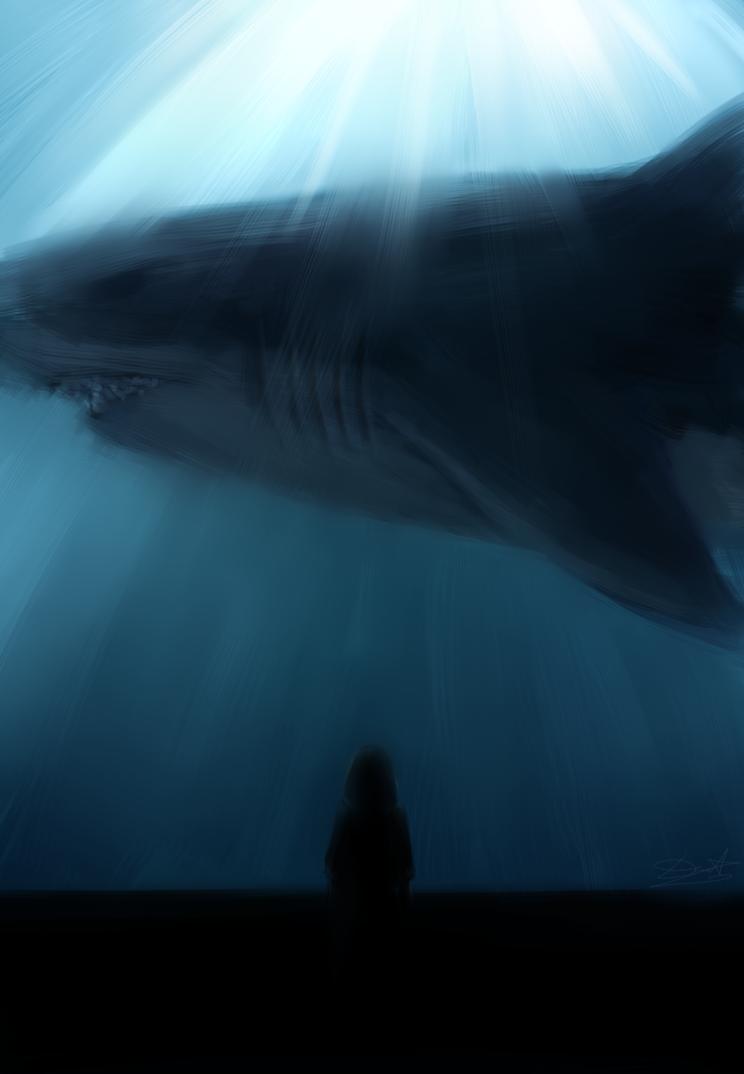 Megalodon by DeathTheBunny