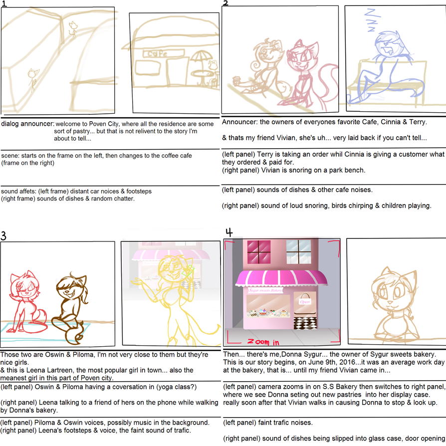 GOLDEN story board [introduction] by Mud-Muffin