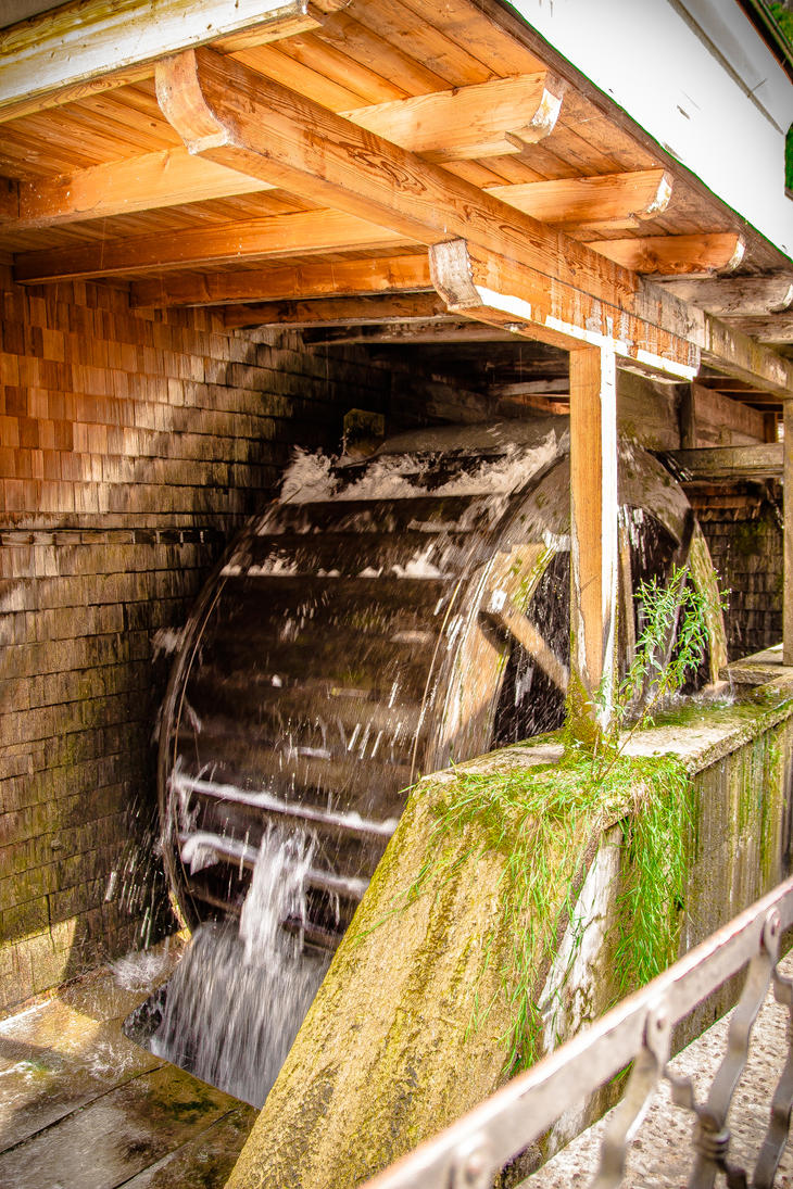 Water Mill 01 by R4xx4r