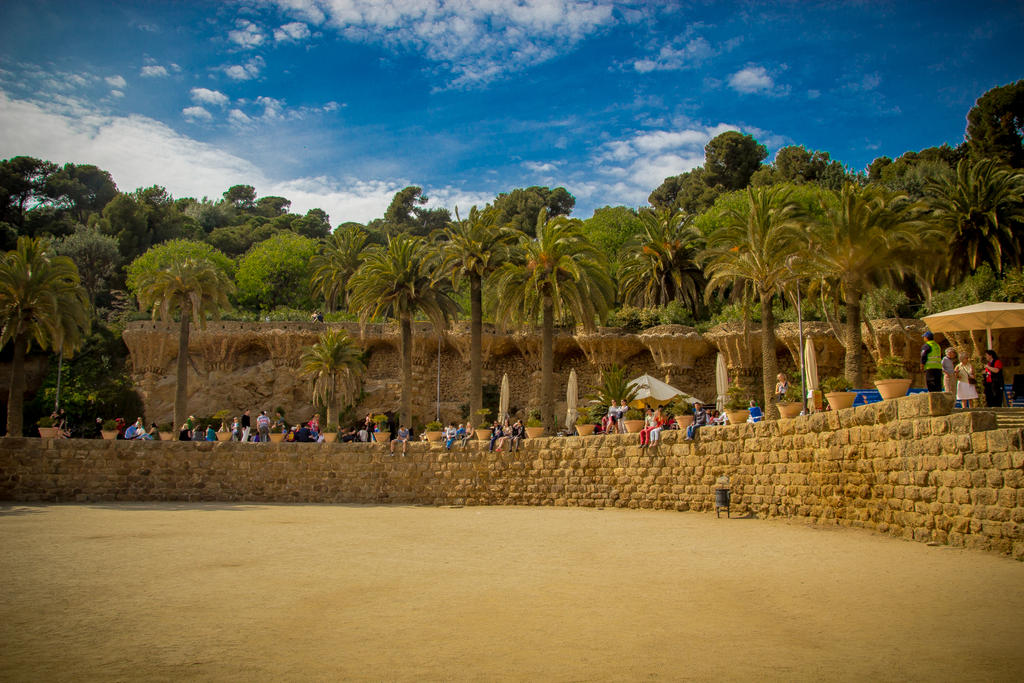 Park Guell Barcelona 07 by R4xx4r