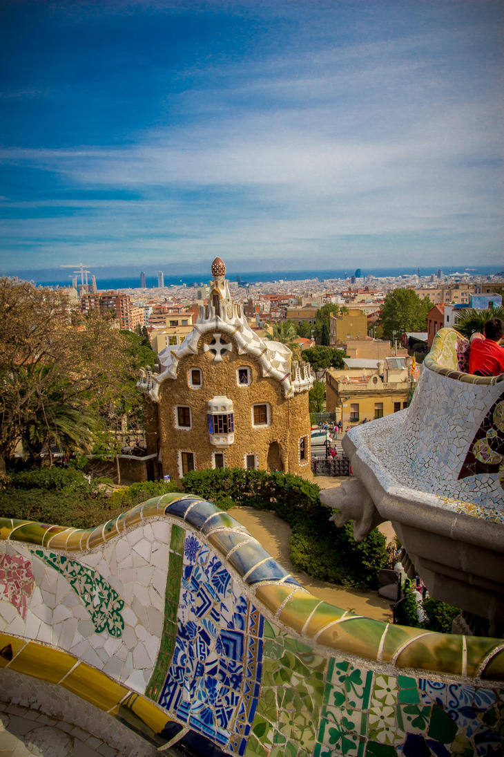Park Guell Barcelona 02 by R4xx4r