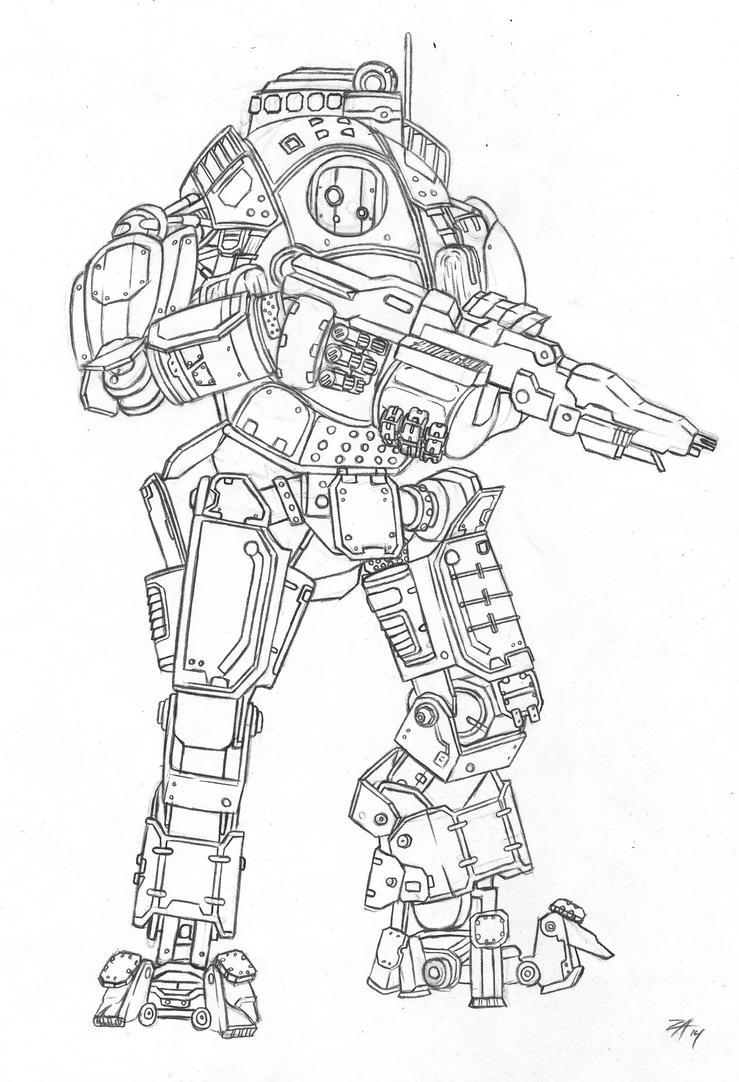 Titanfall: Atlas Titan by Mr-Stricken on DeviantArt
