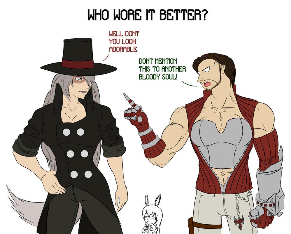 Who wore it better? by Mr-Stricken