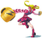 Ribbon Girl from ARMS