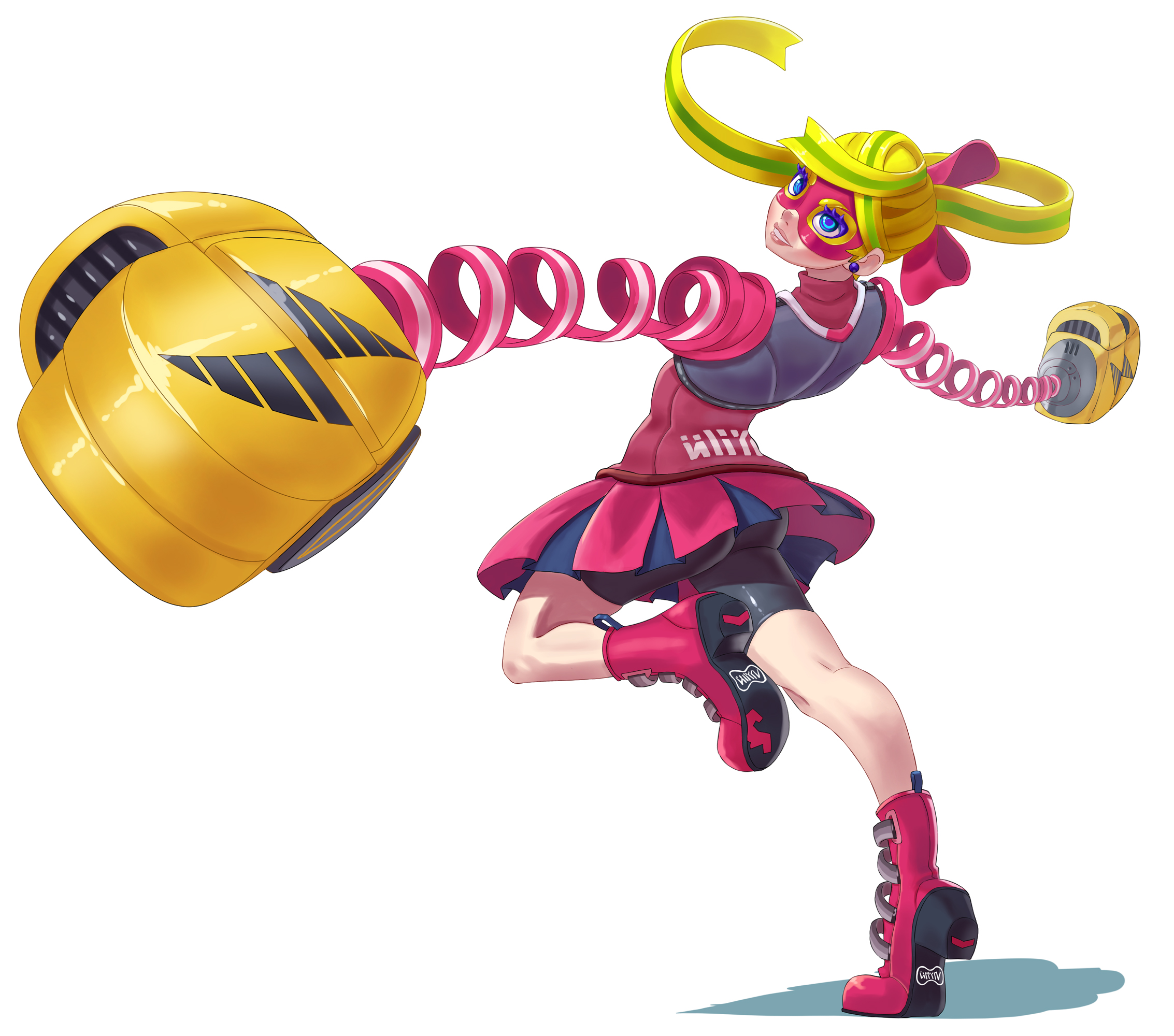 Ribbon Girl from ARMS by Comadreja
