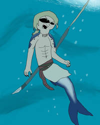 Monster Form Merman Edward Kenway