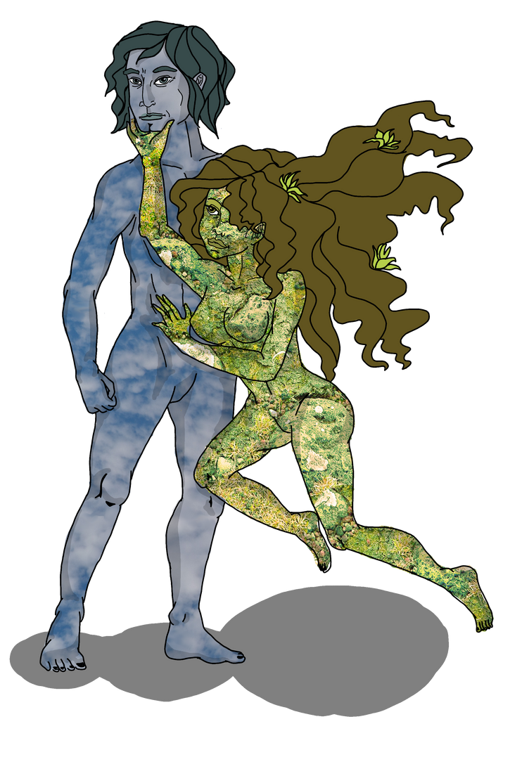 Mythology: Gaia and Ouranos by Veryapedumb on DeviantArt