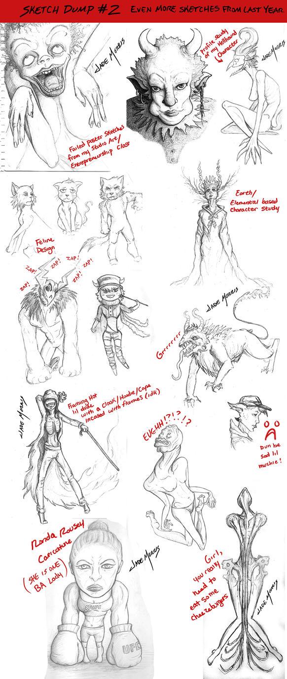 Sketch Dump #2 by Sabor7