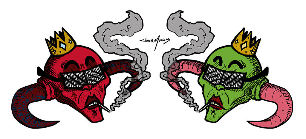 Double Devils by Sabor7