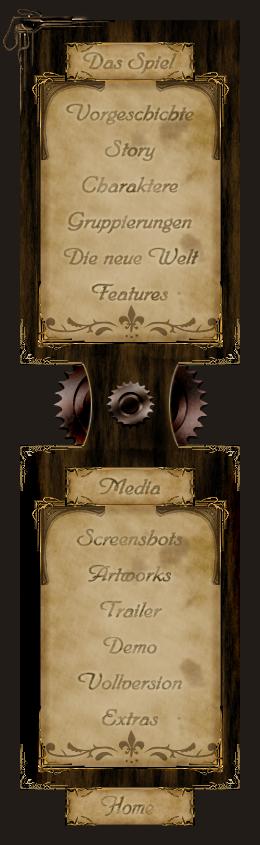 Steampunk Navigation by LeXuS-LiGhTs