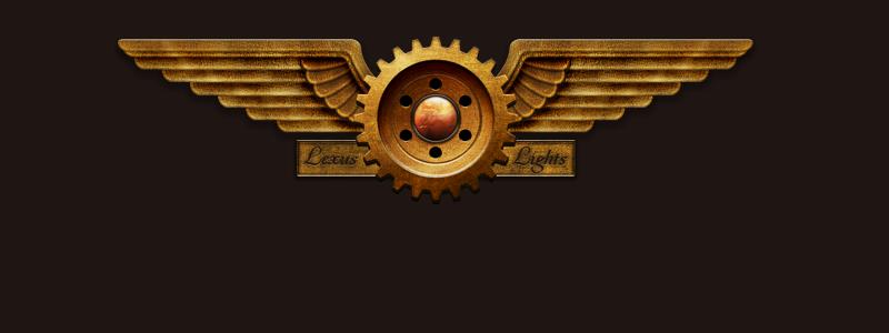 Steampunk Header by LeXuS-LiGhTs