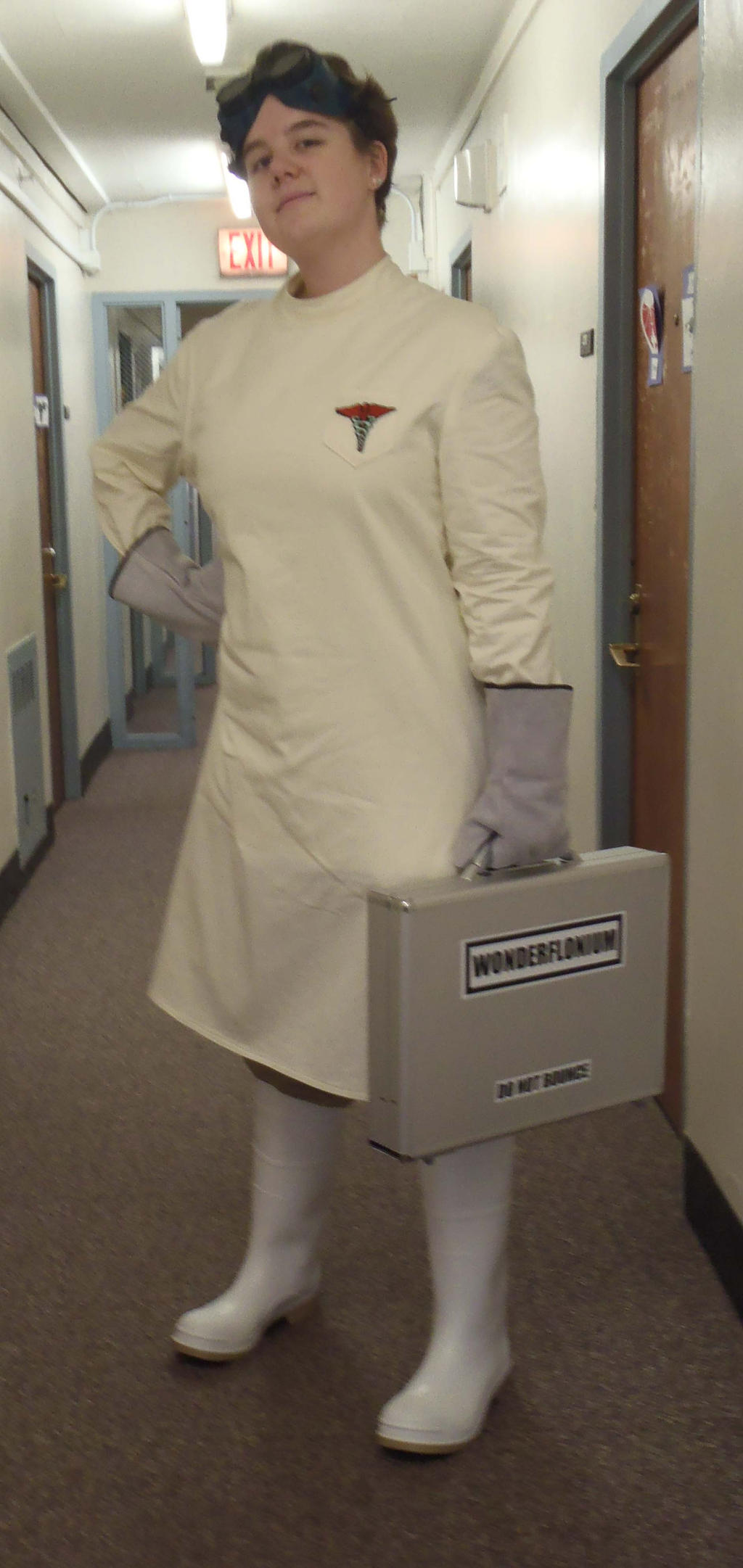 dr horrible halloween costume by mortykins - Dr Horrible Halloween Costume