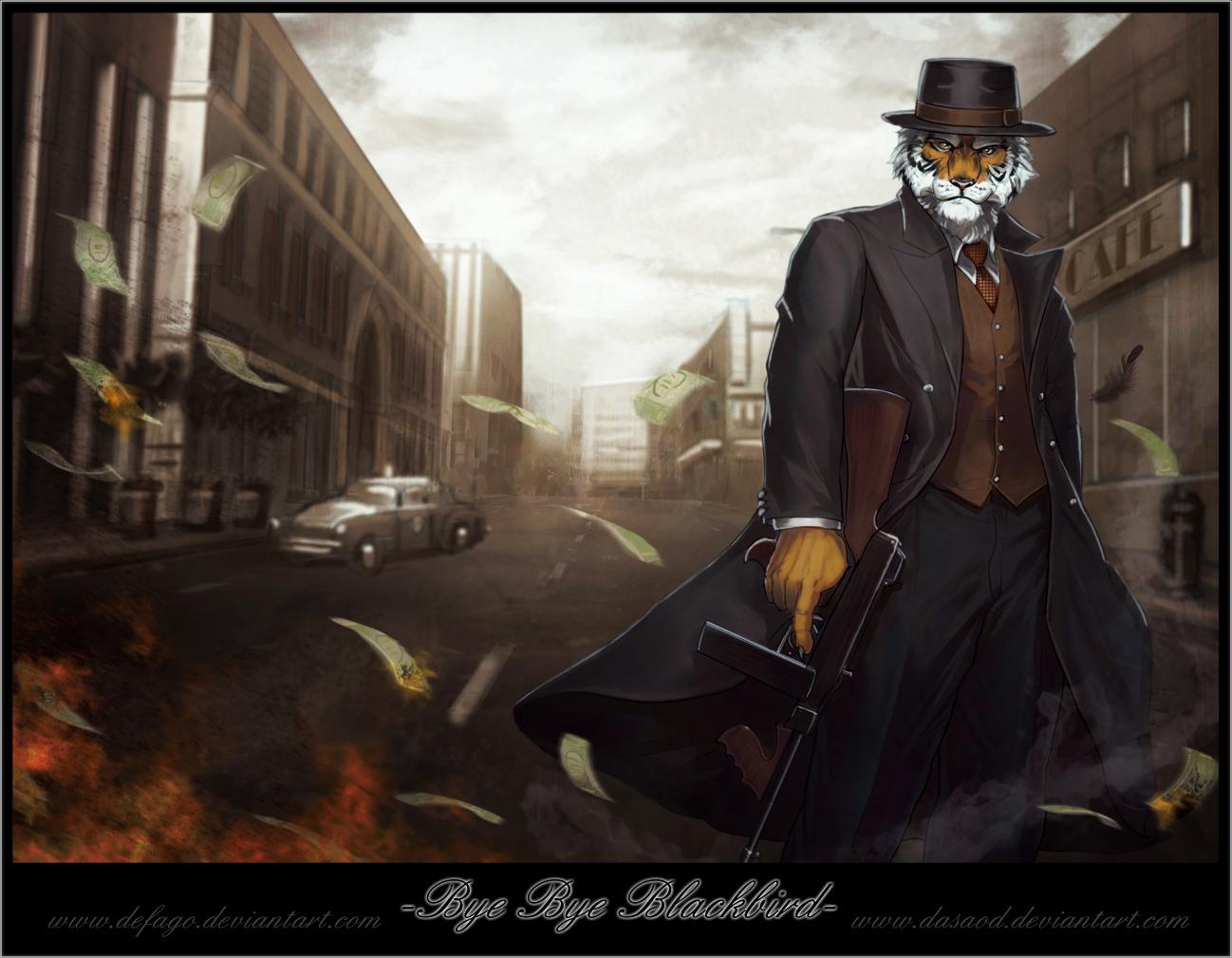 Bye Bye Blackbird by Defago