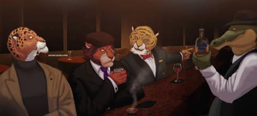 Gentlemen's Meeting by Defago
