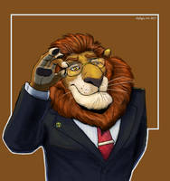 Mayor Leodore Lionheart by Defago
