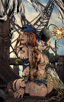 Pirate Babe   Ebas   Egli  Inks By Surftiki-d6