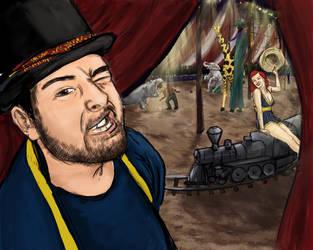 Cowgirl's Train set by AimeeSH