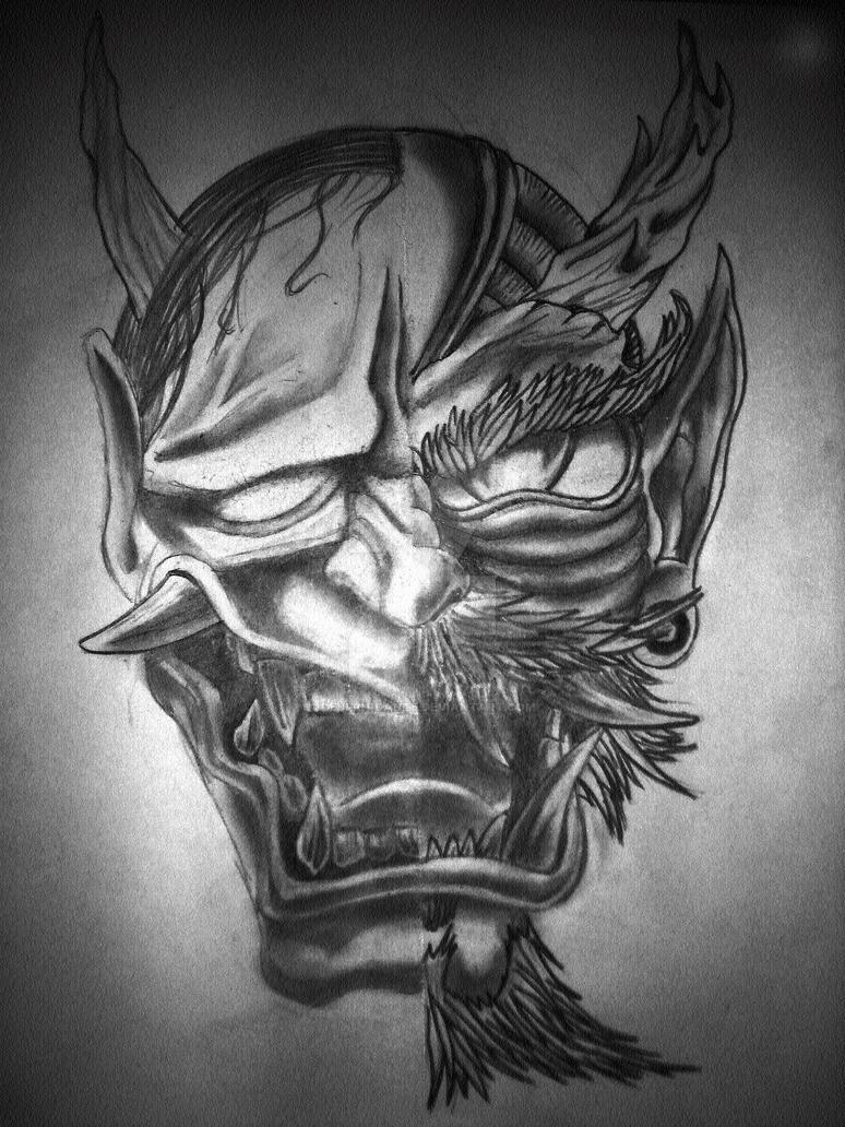 hannya dragon oni masks by devilordante on deviantart. Black Bedroom Furniture Sets. Home Design Ideas