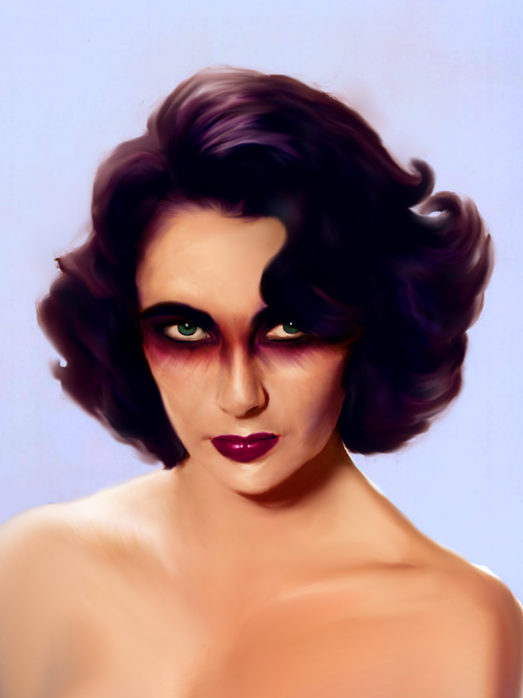 Elizabeth Taylor by Parkerjademerce