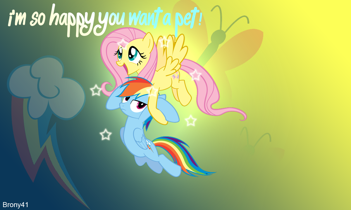 Im So Happy You Want A Pet By Brony41
